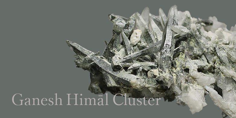 ガネッシュヒマール産ヒマラヤ水晶クラスター